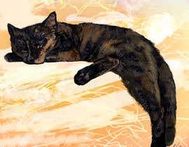 Nro 10 kilpailuun Draw/paint my cat käyttäjältä unsoftmanbox