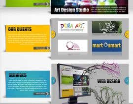 nº 26 pour Website Design for Qatar IT par F5DesignStudio