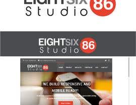 Nro 101 kilpailuun Design a Logo for Eight Six Studio käyttäjältä debbi789