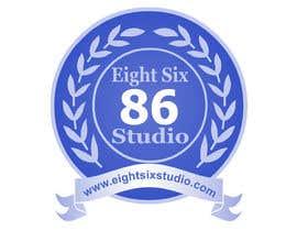 Nro 112 kilpailuun Design a Logo for Eight Six Studio käyttäjältä kwaleedabdullah