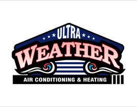 #19 untuk I need a modern amazing logo for Air Conditioning company.   Company name:  Ultra Weather  Air Conditioning & Heating  Please only professional, unique logos.  Thank you. oleh shahinashafin