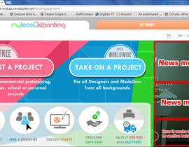#27 untuk Create main image for landing page that will make visitors understand what they can do at our site oleh iamannie