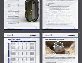 #43 untuk Design a A4 - 12 Page - MaxiPit Brochure oleh jamiu4luv