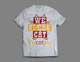 Nro 52 kilpailuun Design Cat-Themed T-Shirts - More than one winner possible käyttäjältä hafij67