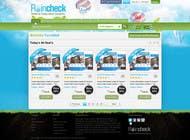 Graphic Design Konkurrenceindlæg #52 for Website Design for Raincheck