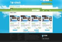 Graphic Design Konkurrenceindlæg #23 for Website Design for Raincheck