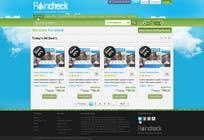 Graphic Design Konkurrenceindlæg #49 for Website Design for Raincheck