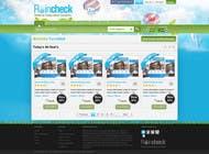 Graphic Design Konkurrenceindlæg #51 for Website Design for Raincheck
