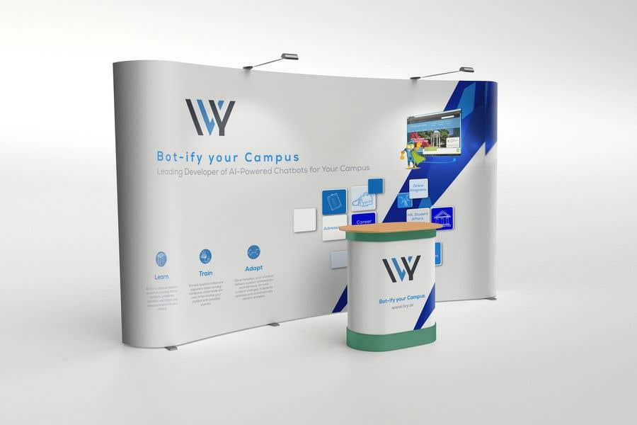 Kilpailutyö #9 kilpailussa Graphic Design for a Trade Show Booth -- 2018