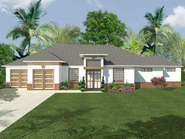 Imagem de                             3D House and Landscape Redering