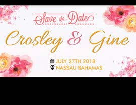 #25 for Wedding Save they date card design by savitamane212