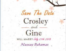 #27 for Wedding Save they date card design by russel116