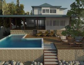 #24 for house plan 3d rendering af Ximena78m2