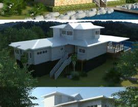 #13 for house plan 3d rendering af richardwct