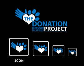 #156 untuk Logo Design for The Donation Project oleh venug381