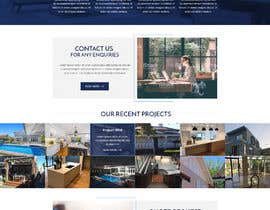#52 for Design a website for a Builder/Carpenter af pixelwebplanet