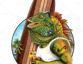 #153 для Green Iguana Logo for a land and water sports equipment rental business від Digiartvale