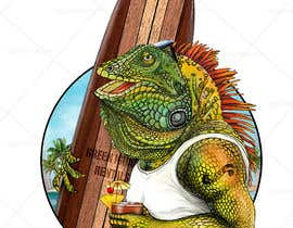#159 для Green Iguana Logo for a land and water sports equipment rental business від Digiartvale