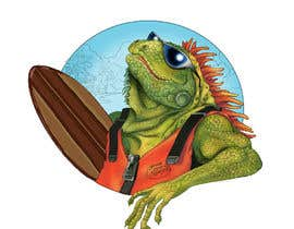 #152 для Green Iguana Logo for a land and water sports equipment rental business від Cornman
