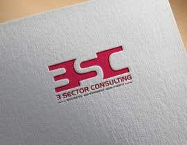 """Nro 14 kilpailuun The business name is """"3 Sector Consulting."""" käyttäjältä rtaraq"""