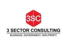 """Nro 38 kilpailuun The business name is """"3 Sector Consulting."""" käyttäjältä Hasibulit"""