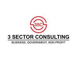 """Nro 39 kilpailuun The business name is """"3 Sector Consulting."""" käyttäjältä Hasibulit"""