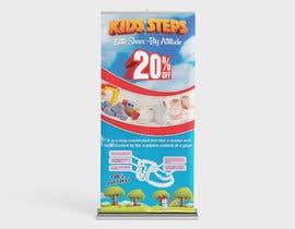 #6 untuk 4 Designs for Roll Up dimensions 85 x200 oleh benson92