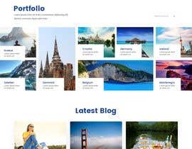 #8 for Design a travel consultant personal website af syrwebdevelopmen