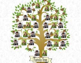 #73 cho Creative layout of Genealogical Tree - A1 size bởi marinamp86