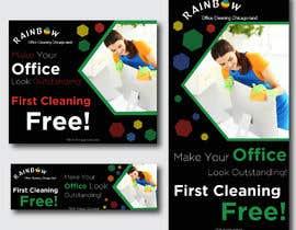 Nro 41 kilpailuun Design banners for office cleaning company käyttäjältä owlionz786
