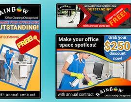 Nro 31 kilpailuun Design banners for office cleaning company käyttäjältä monirkhan2928