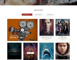 #6 for Movie Theatre Website with Ticketing by Aloknano