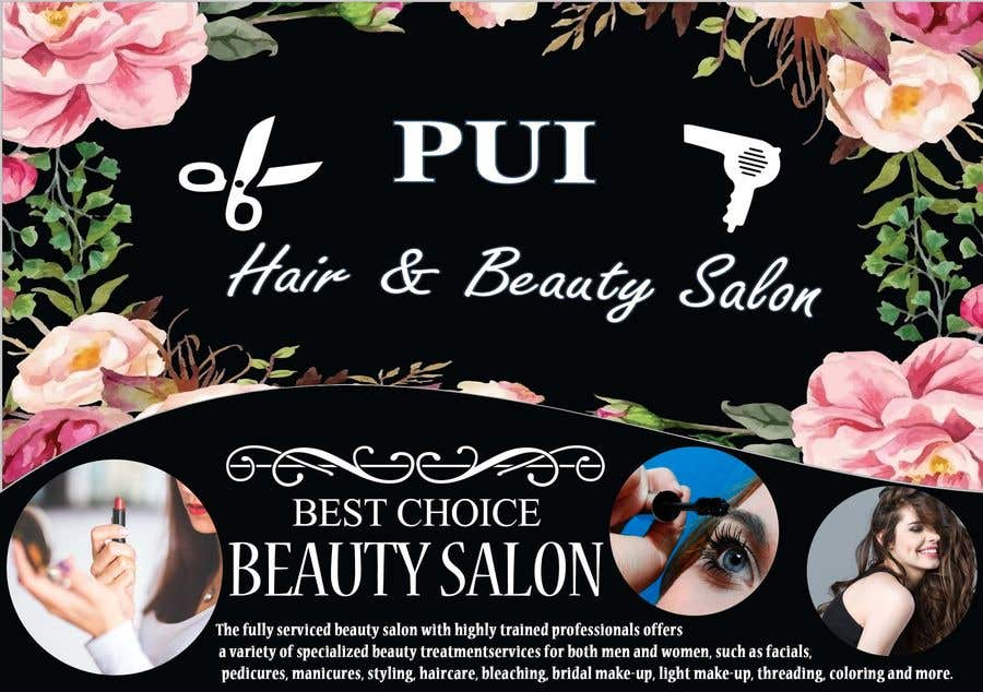 Bài tham dự cuộc thi #50 cho hair salon 2