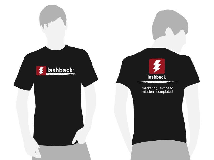 Inscrição nº 216 do Concurso para T-shirt Design for LashBack, LLC