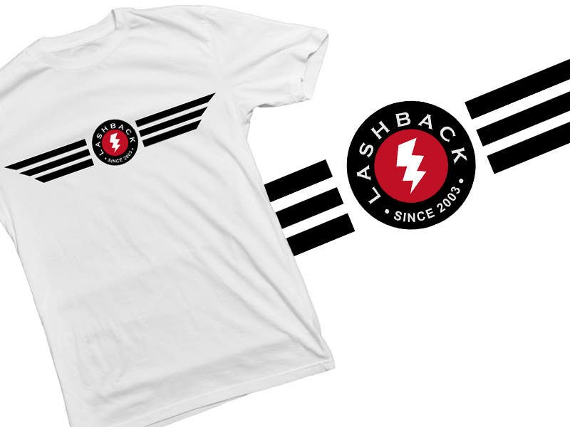 Inscrição nº 127 do Concurso para T-shirt Design for LashBack, LLC