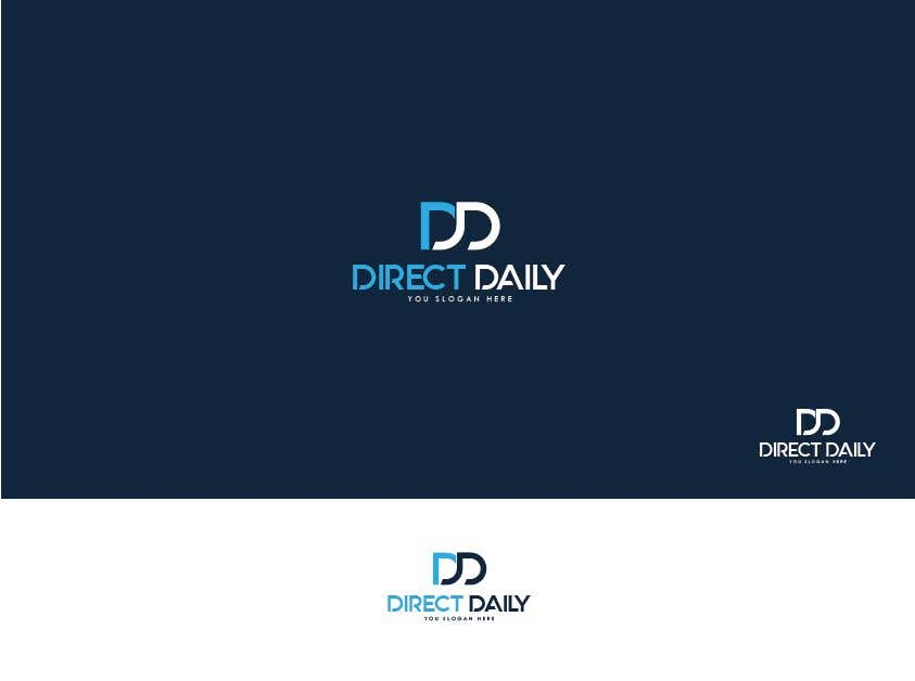 "Contest Entry #43 for Design a very simple logo for the company name ""Direct Daily"""