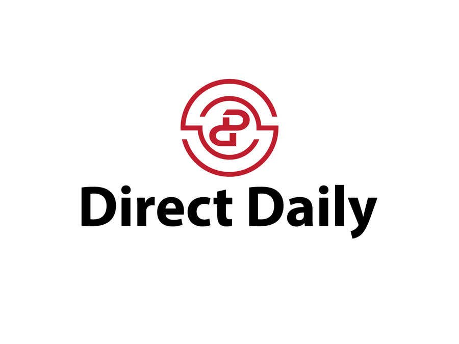 """Contest Entry #41 for Design a very simple logo for the company name """"Direct Daily"""""""