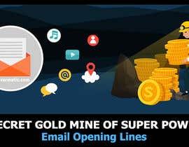 Nro 56 kilpailuun Design an Awesome Banner - Email Opening Lines käyttäjältä SmartBlackRose