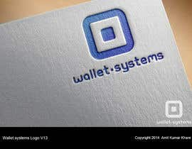 #57 for Design a logo for wallet.systems by amitkumarkhare