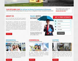 nº 16 pour Website Design for All Star Roofing par MishAMan