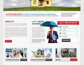 nº 29 pour Website Design for All Star Roofing par MishAMan