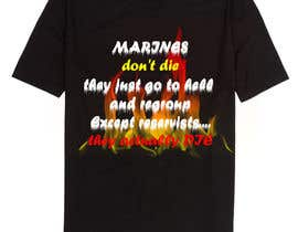 anhchi307 tarafından Design a T-Shirt for Marines için no 21