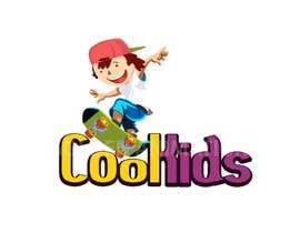 #93 for Cool Kids Logo Design af GoldenAnimations