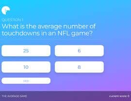 #26 for UI/UX Website Graphic Design for Quiz Game - Please Create Mockup by dmout