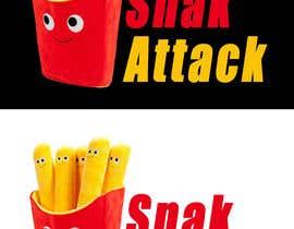 """#15 untuk Logo for food truck name """"Snak Attack"""" Colors not more than three colors oleh Nadeem391"""