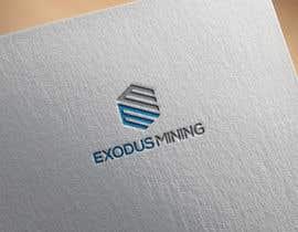 #1052 pentru Exodus Mining Logo Design de către miltonhasan1111