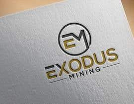 #1064 pentru Exodus Mining Logo Design de către imalaminmd2550