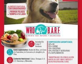 #15 for Etiqueta Comida Natural para perros af ElizabethDesign7