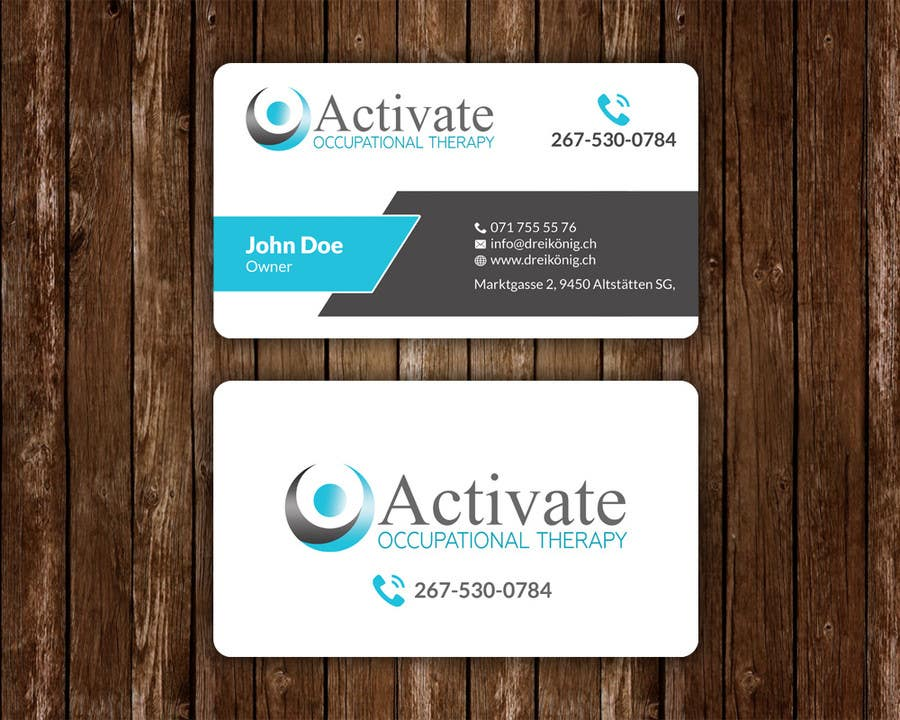 Design Some Business Cards For