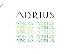 "#44 Beautiful Typography of ""ADRIUS"" Word Logo részére neotrix777 által"